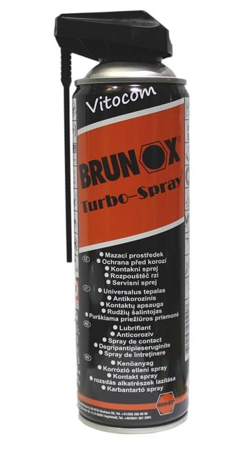Brunox Turbo power click spray 500ml